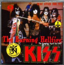 Photo1: KISS 7CD BOX THE BURNING HELLFIRE TARANTURA 2nd Edition Limited Numbered