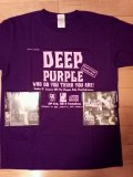 DEEP PURPLE Who Do You Think You Are x 2 + T-shirt M Tarantura