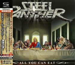 Photo1: Steel Panther ‎Limited SHM-CD+DVD All You Can Eat Japan NEW UICN-9021