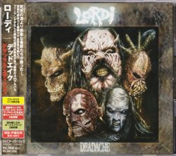 Photo1: Lordi ‎– Deadache CD+DVD Japan NEW KISS BVCP-25154/5