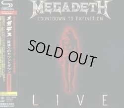 Photo1: Megadeth ‎– Countdown To Extinction Live SHM-CD Japan NEW UICY-15258