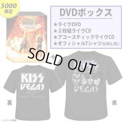 Photo1: KISS Rocks Vegas DVD+3CD+T-shirt(L) BOX Limited 5000 Japan NEW