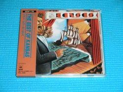 Photo1: KANSAS The Best Of Kansas 1st Press w/BOX Style OBI 1984 32DP-178 3200YEN Japan