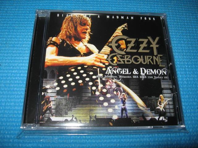 ozzy osbourne live cd bonus cd r angel demon randy rhoads new japan trader inc. Black Bedroom Furniture Sets. Home Design Ideas